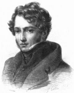 Géricault par Alexandre Colin, 1816.
