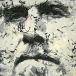 Delacroix, chiffon peint. © Jo Vargas.